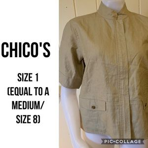 Chico's Short Sleeved Jacket